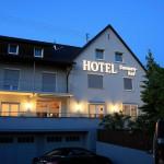 Hotel Sonnenhof bei Nacht
